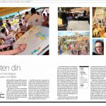 Aftenposten - double page in Norway