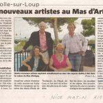 Nice-Matin - Mas d'Artigny
