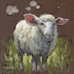 Le Mouton, sheep, portrait