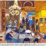Charlotte Salomon - musée Masséna exposition, gouache, crayons, pencils