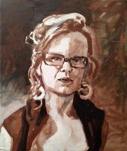 Autoportrait Märta