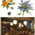 Exposition des Fleurs sur bois - Restaurant Daizy