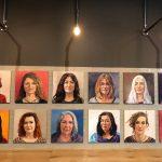 Portraits de Femmes , exposition Daizy Oil on canvas Huile sur toile portrait, woman, femme Märta Wydler, art
