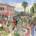 event painting - Villa Ephrussi peinture événement
